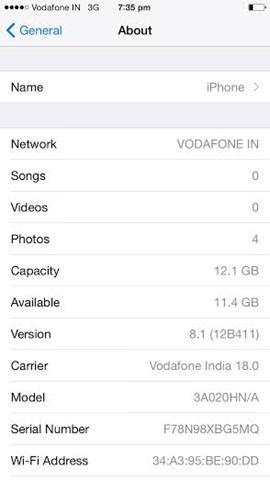 Apple iPhone 6 screenshot 1