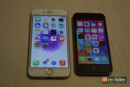 Apple iPhone 6 vs Apple iPhone 5s 02