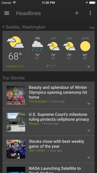 Google News & Weather_1