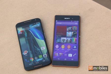 Moto X (2nd-gen) vs Sony Xperia Z3 09