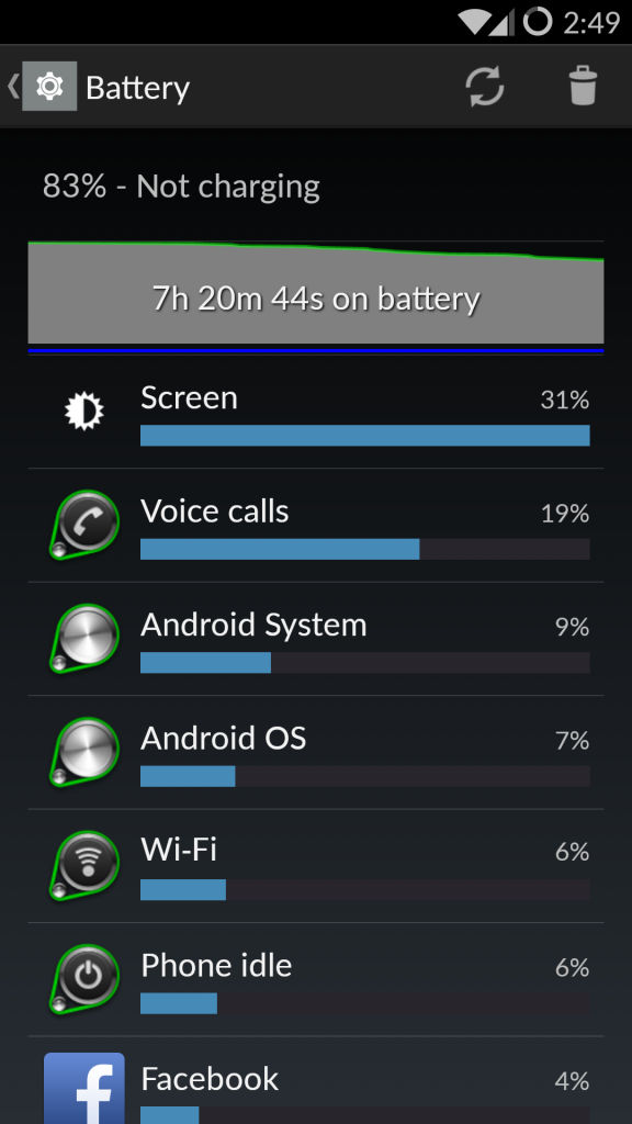 OnePlus One_battery