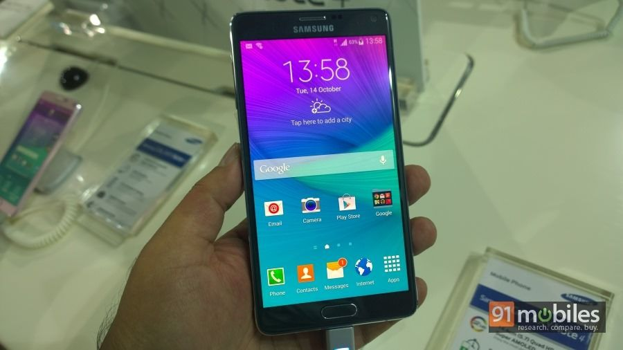 Samsung Boasts Features Software with Its New Galaxy Note 4