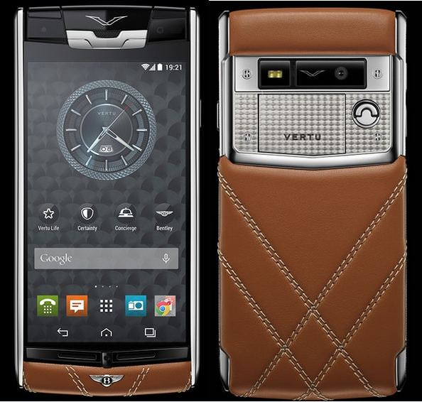 "2e6432f50 ""Vertu for Bentley"" limited edition Android smartphone launched"