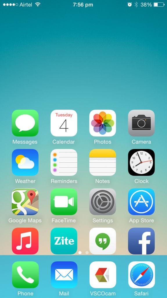 Apple iPhone 6_Reachability