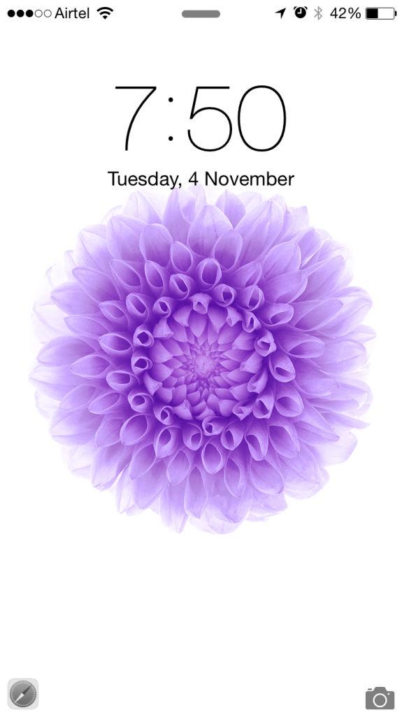 Apple iPhone 6_lockscreen