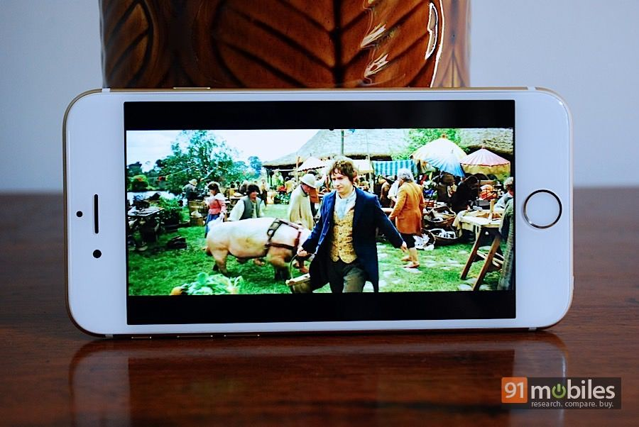 Apple iPhone 6_video player