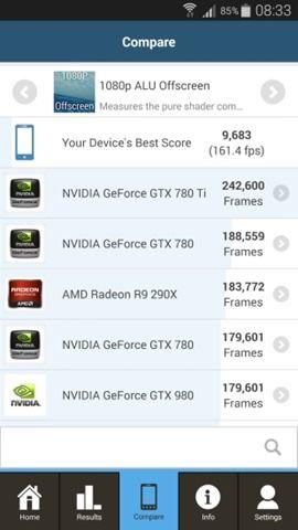 GFXbench on Samsung Galaxy Note 4 (2)