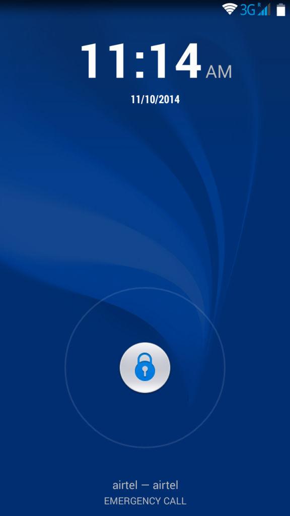 Huawei Honor Holly_lockscreen