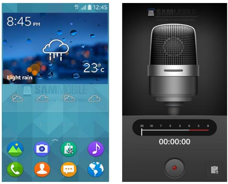 Samsung's entry-level Tizen phone surfaces again with specs and UI