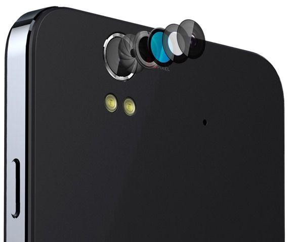 Lava Iris X1 camera