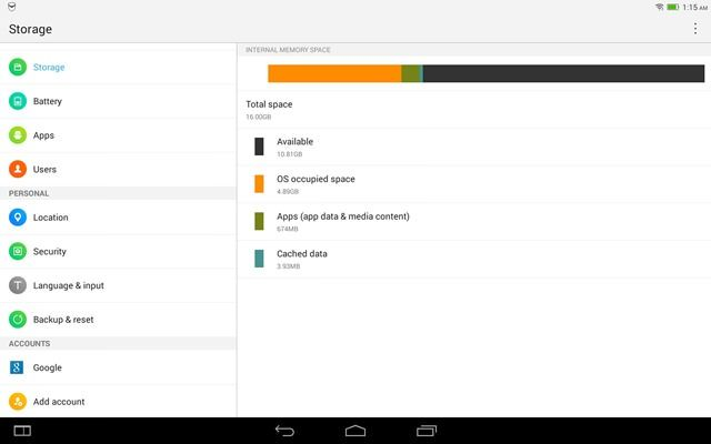 Lenovo Yoga Tablet 2 (10) screenshot