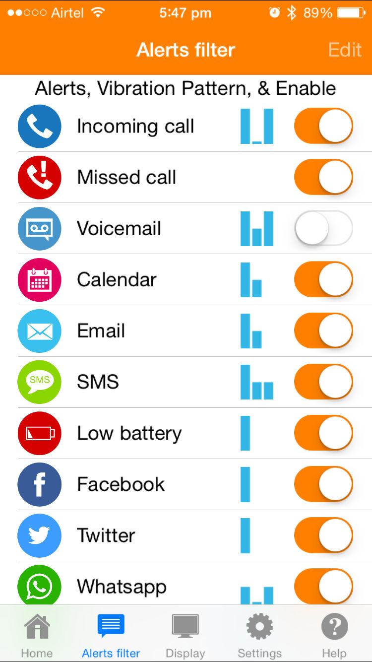 Martian Notifier app_2