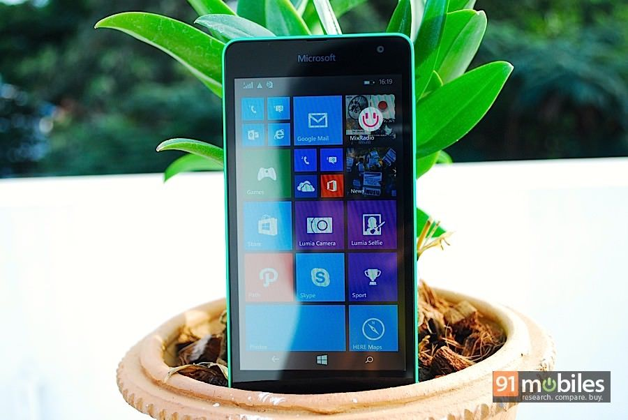 Microsoft Lumia 535 review | 91mobiles com