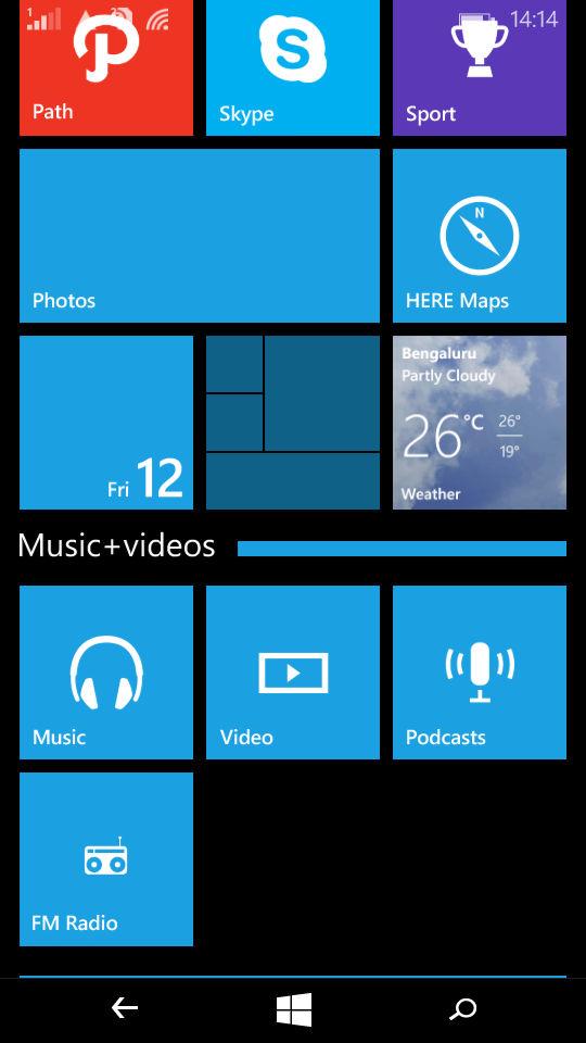 Microsoft Lumia 535_app folders