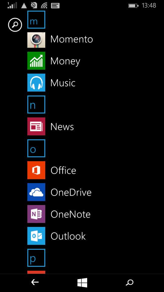 Microsoft Lumia 535_apps_2