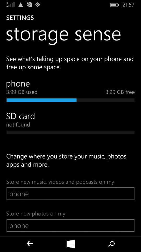 Microsoft Lumia 535_storage