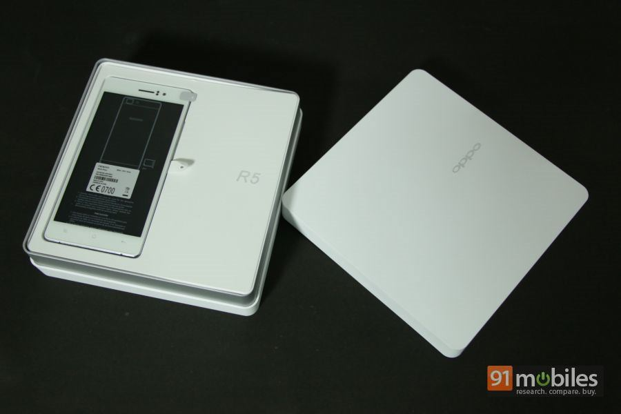 OPPO R5 unboxing 06