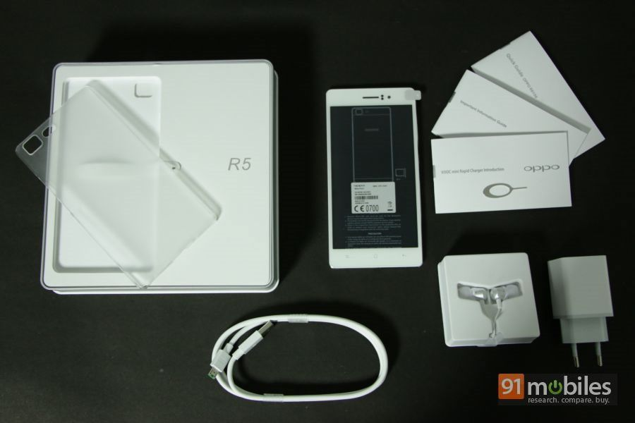 OPPO R5 unboxing 25