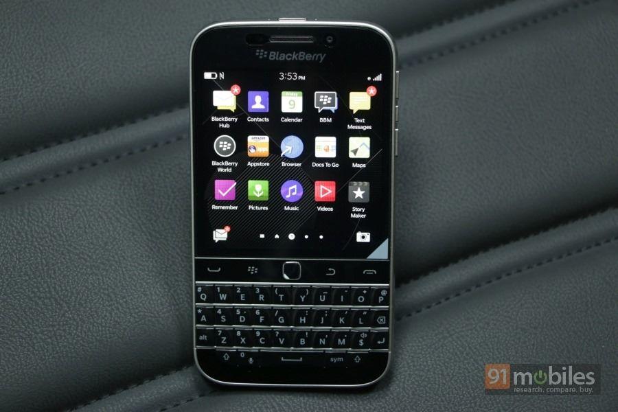 BlackBerry Classic review   91mobiles com