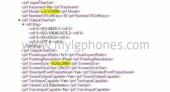 The LG G4 might feature a 3K resolution display ...