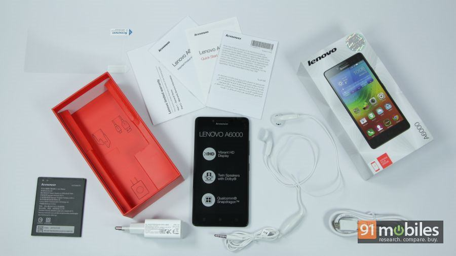 Lenovo A6000 unboxing 02