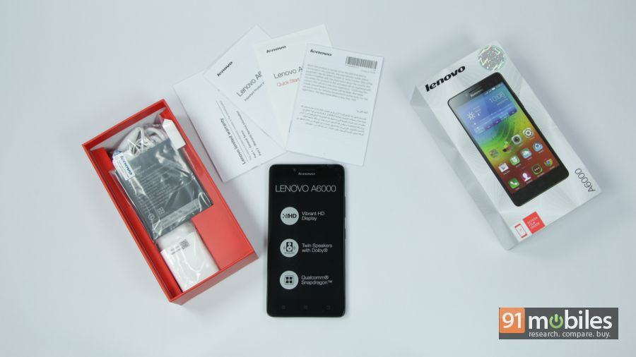 Lenovo A6000 unboxing 11