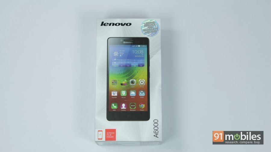 Lenovo A6000 unboxing 14
