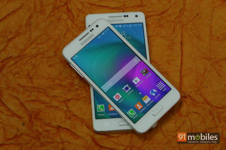 Samsung Galaxy A3 and A5 first impressions 03