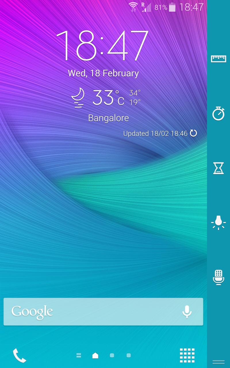 Samsung Galaxy Note Edge_edge utility