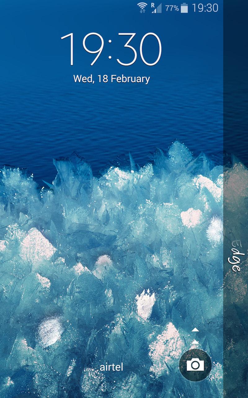 Samsung Galaxy Note Edge_lockscreen