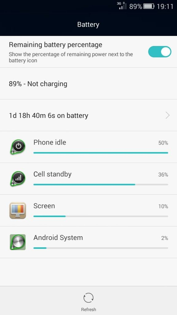 Honor 4x_battery