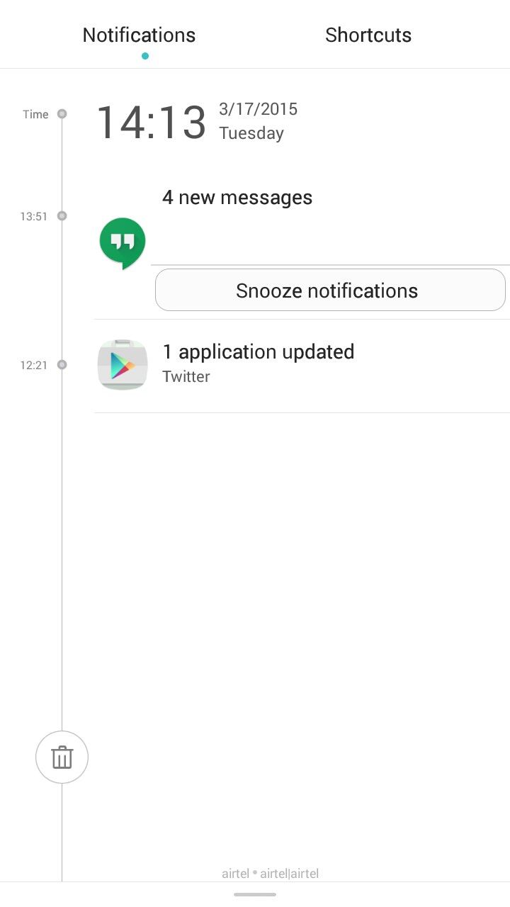 Honor 4x_notifications