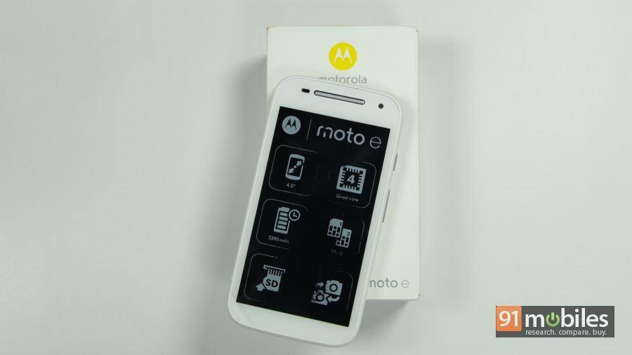 Moto E (2nd-gen) unboxing 11