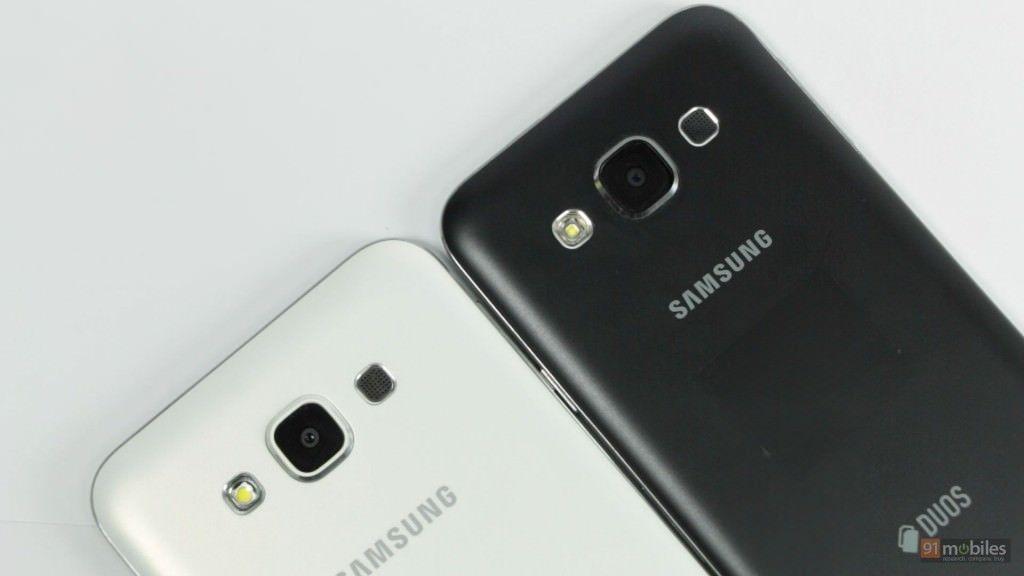 Samsung Galaxy E5 and E7 7