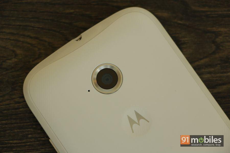 The new Moto E (2nd-gen) camera