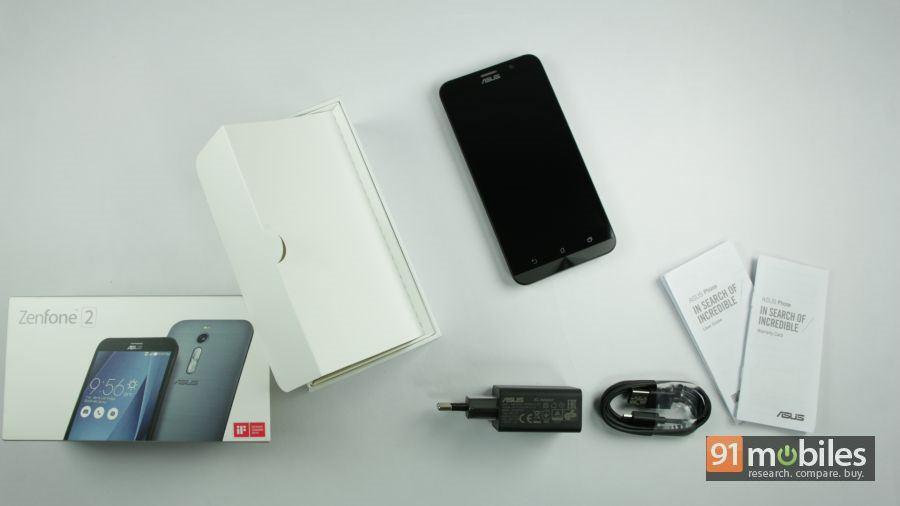 ASUS ZenFone 2 unboxing 01