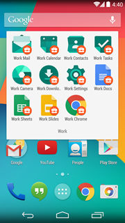 Android for Work 3