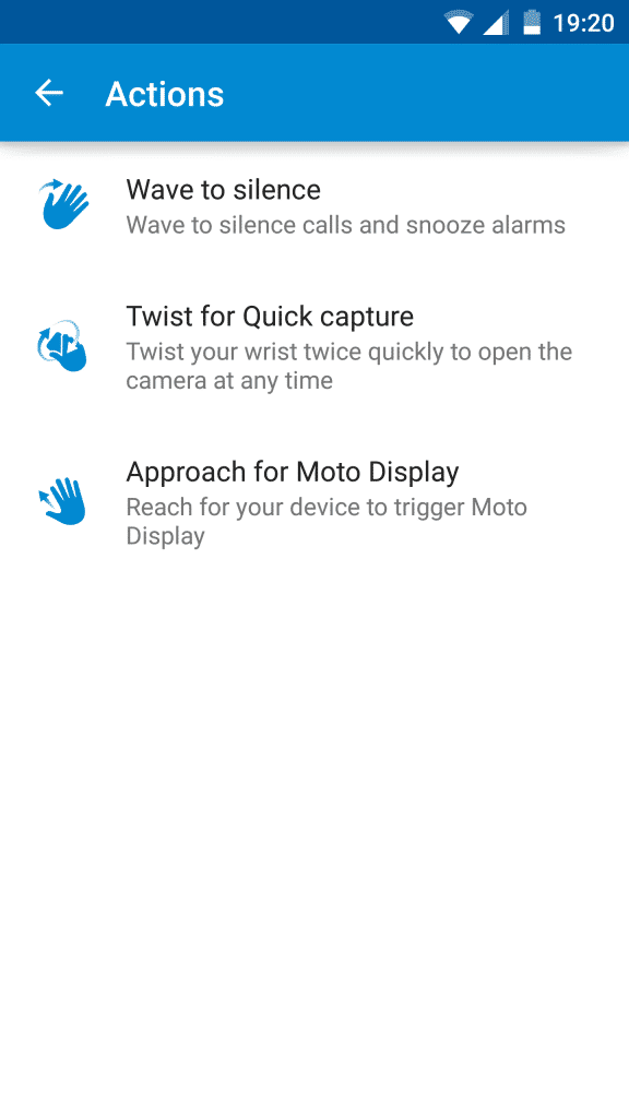Moto Turbo_Moto Actions