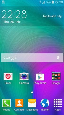 Samsung Galaxy A3 screenshots (2)