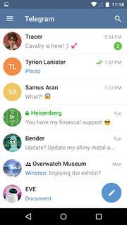 Telegram messenger 1
