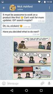 Telegram messenger 2
