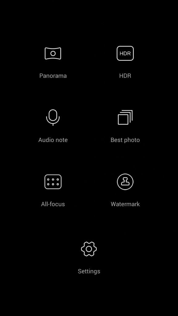 Honor 4C_camera modes