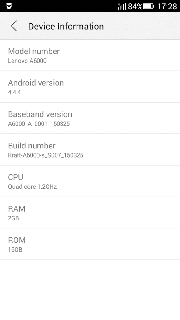 Lenovo A6000 Plus_about phone
