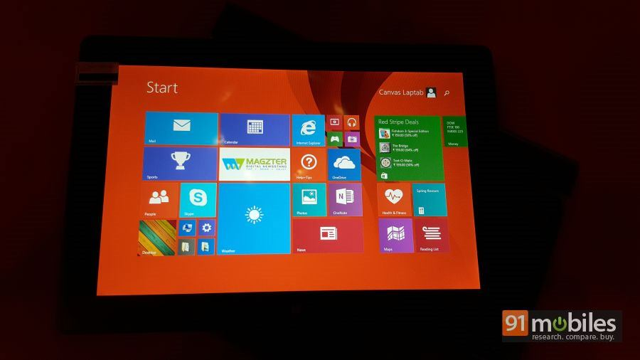 Micromax Canvas LAPTAb quick look 11