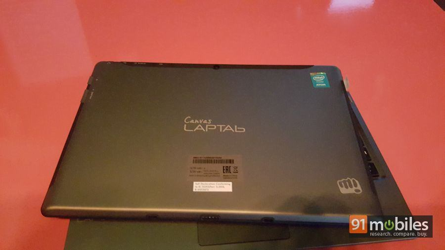 Micromax Canvas LAPTAb quick look 15