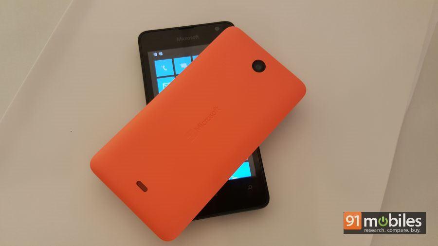 Microsoft Lumia 430 quick look 01