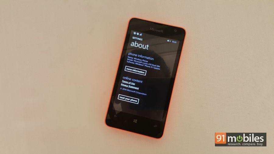 Microsoft Lumia 430 quick look 16