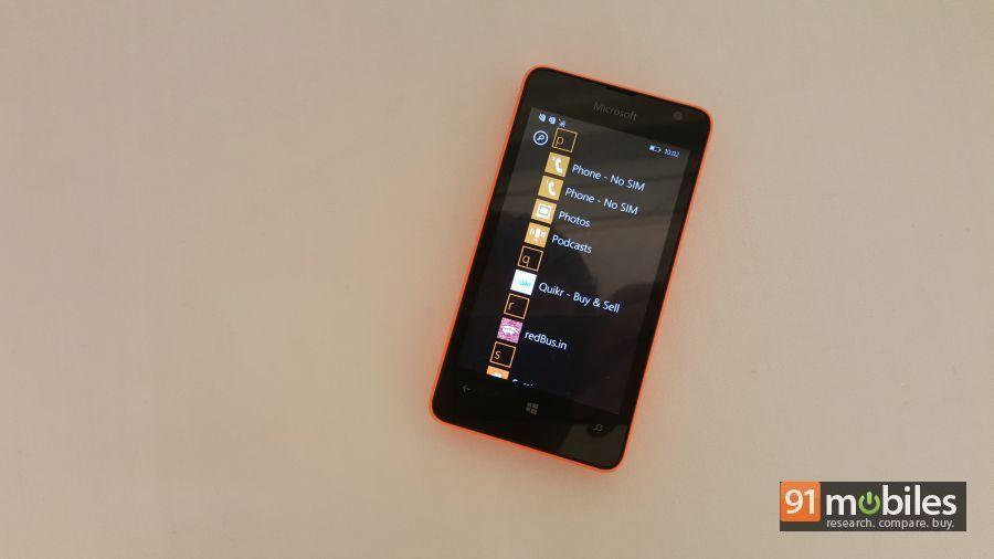 Microsoft Lumia 430 quick look 19