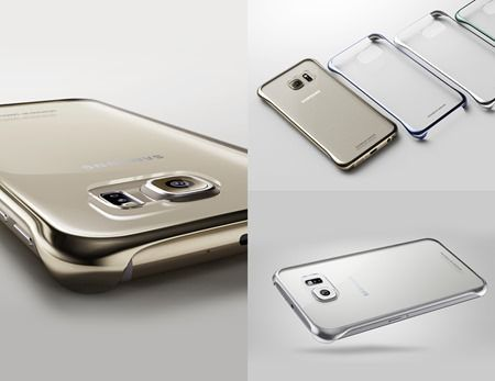 Samsung Galaxy S6 edge Clear cover