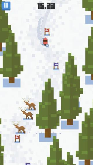Skiing Yeti Mountain_2